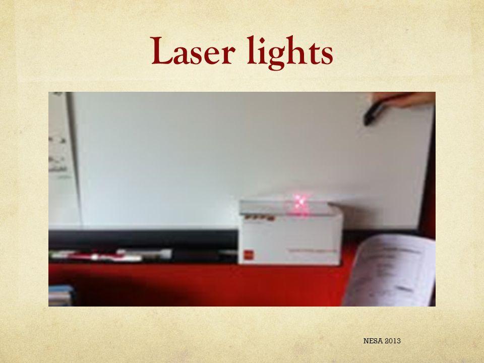 Laser lights NESA 2013