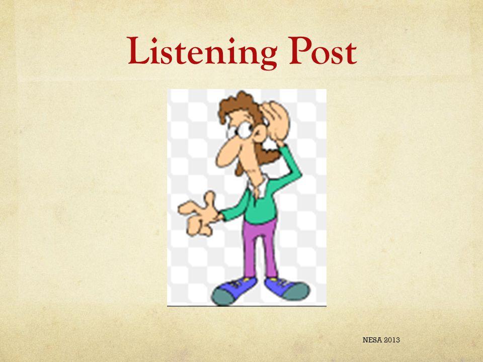 Listening Post NESA 2013