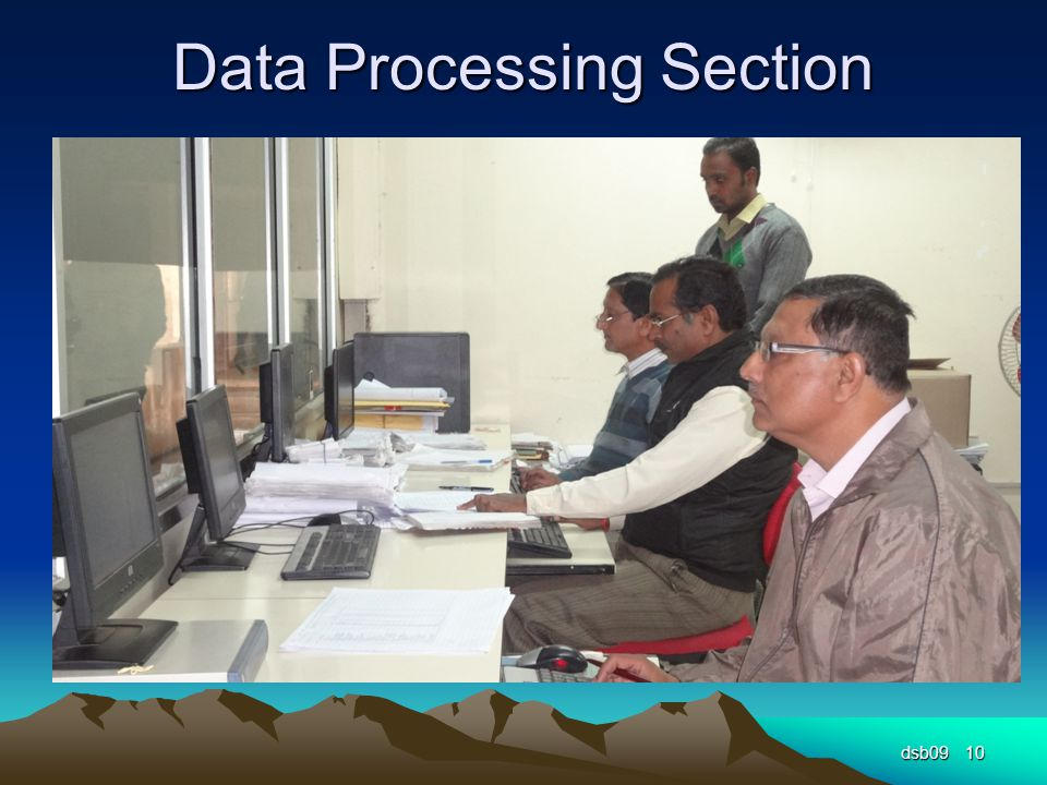 Data Processing Section dsb0910