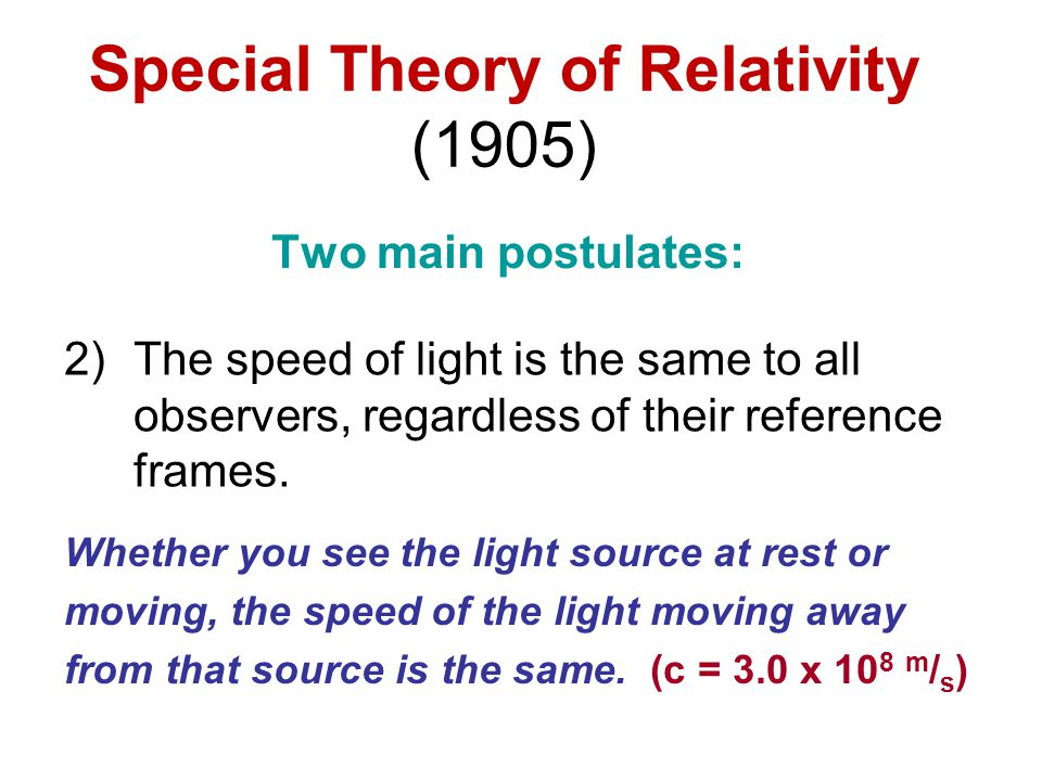 General Theory of Relativity If the ship accelerates upward at a sufficient rate, the beam will hit the other wall lower, due to the ship's upward motion (and beam's straight-line path).