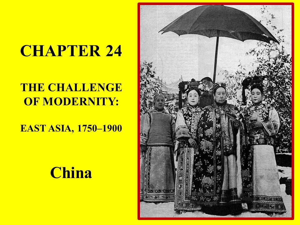 China and Japan in the Age of Imperialism Britain tried to set up a diplomatic embassy in Qing China.