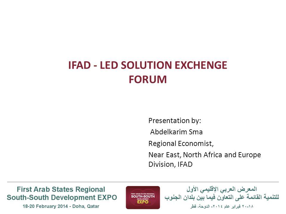 Solution 1: Jordan, Initiating and maintaining income generating activities for Jordanian women.