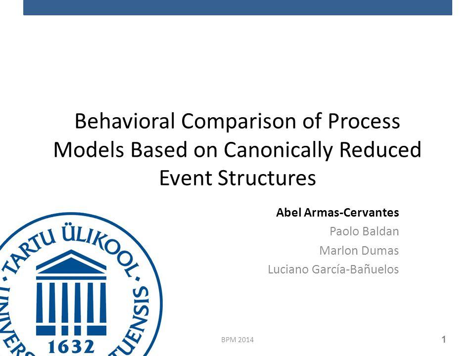 Business process models BPM 2014 2 Start event Activity XOR gateway AND gateway End event Run