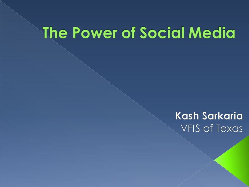  Social media refers to the means of interaction among people in which they create, share, and/or exchange information and ideas in virtual communities and networks  Social Media can take on many forms including blogs, videos, file sharing, articles but we will be focusing on social networking