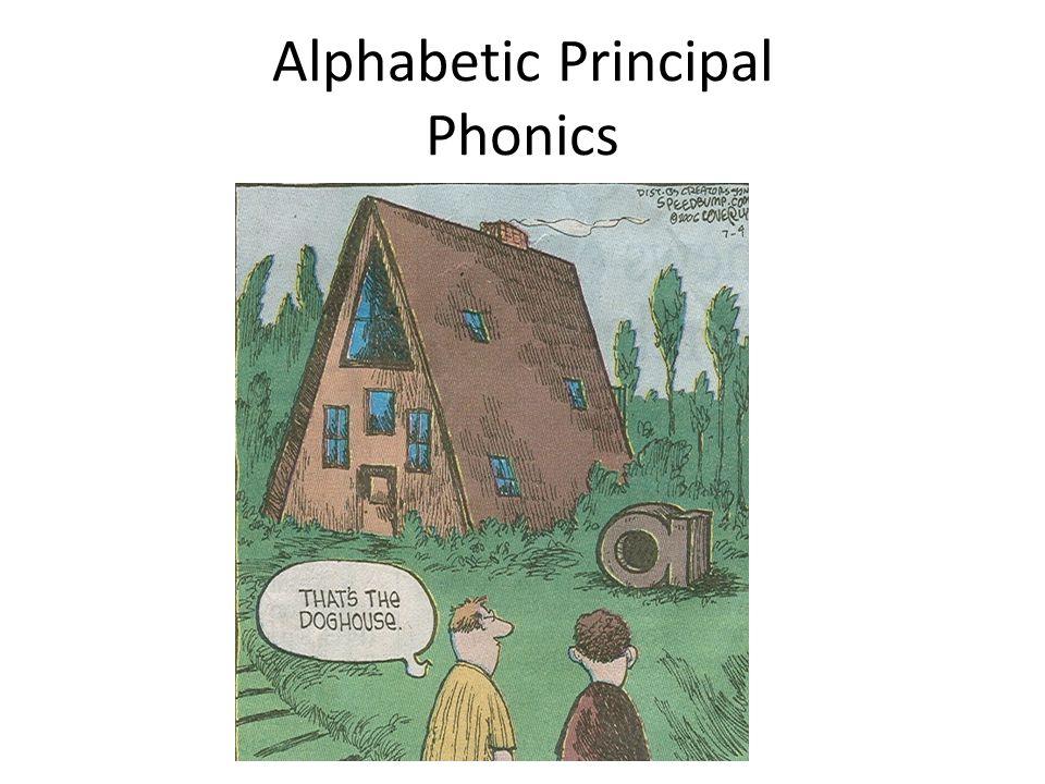 Alphabetic Principal Phonics