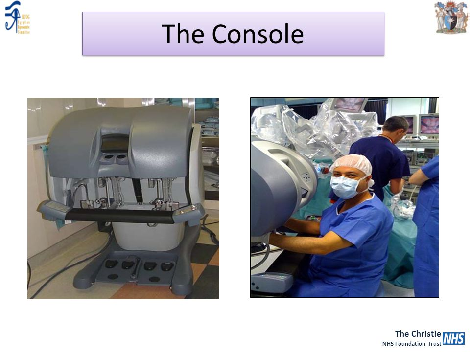The Christie NHS Foundation Trust The Console