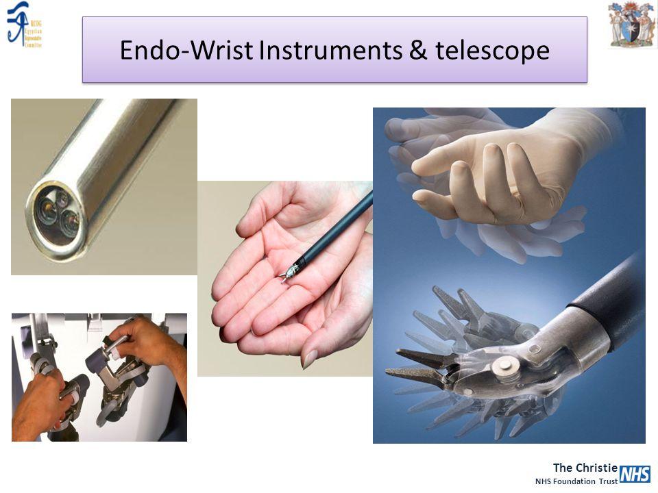 The Christie NHS Foundation Trust Endo-Wrist Instruments & telescope