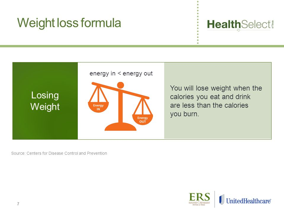 You will lose weight when the calories you eat and drink are less than the calories you burn.