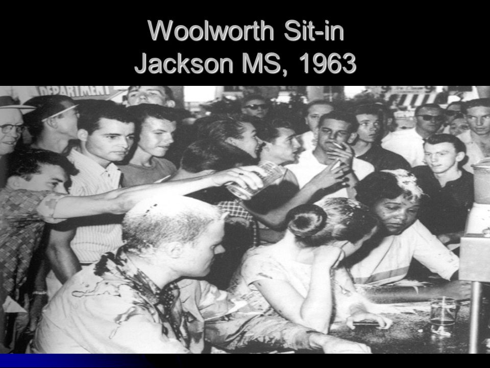 Woolworth Sit-in Jackson MS, 1963