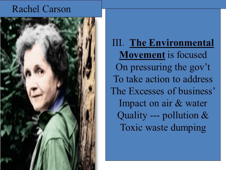 Rachel Carson III.