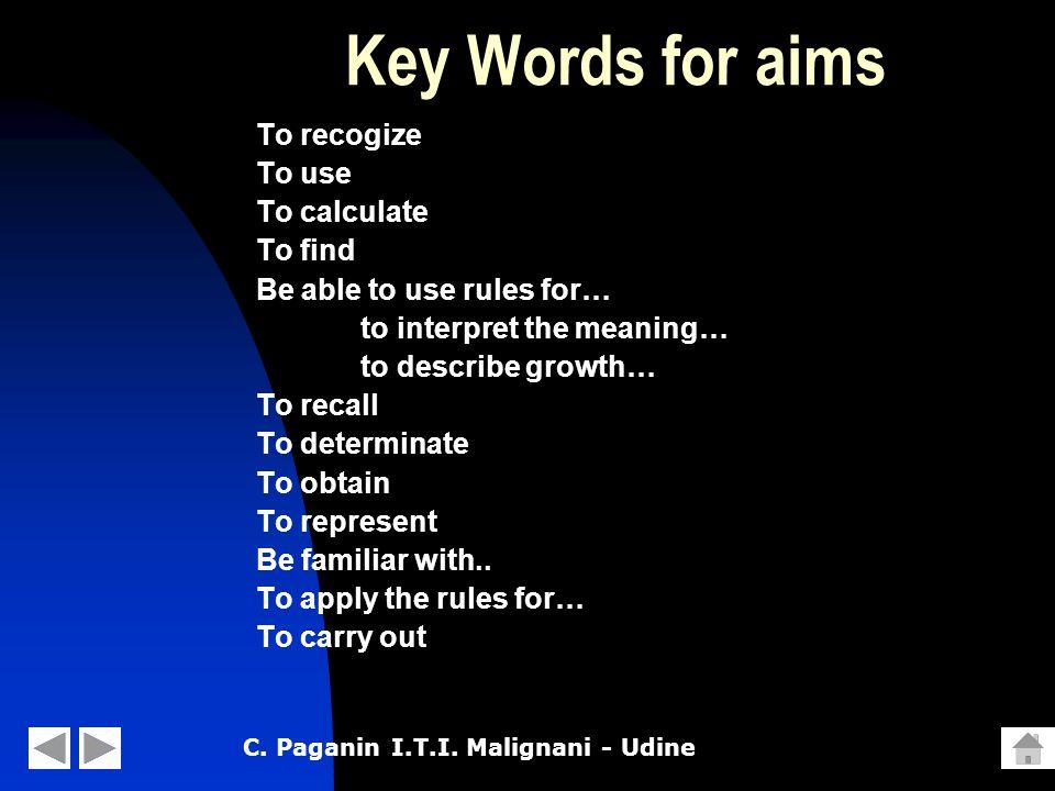 C.Paganin I.T.I.