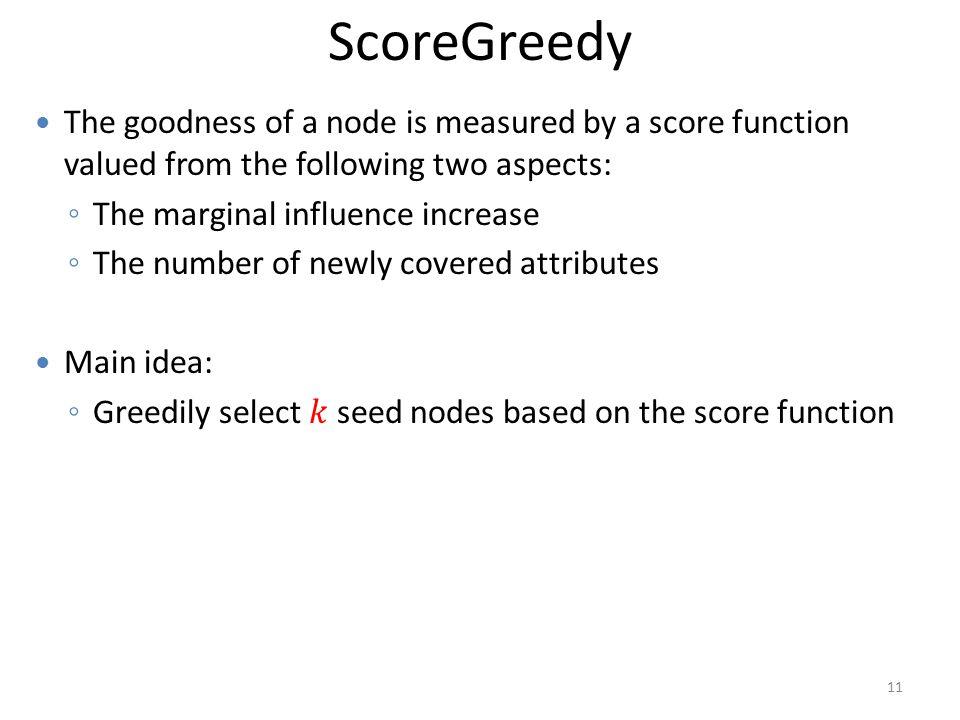 ScoreGreedy 11