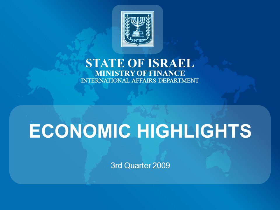 Net Foreign Investments in Israel (B$) Source: Ministry of Finance CONTINUE