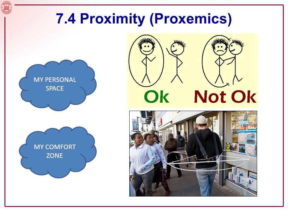 Slide No. 8 7.4 Proximity (Proxemics)