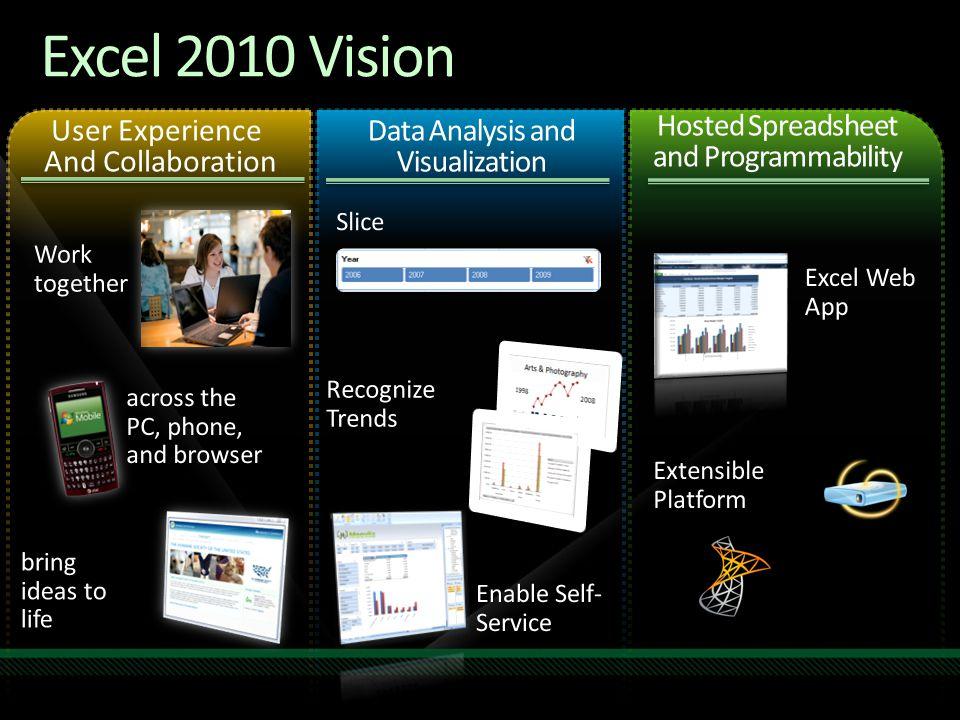 Excel 2010 Vision