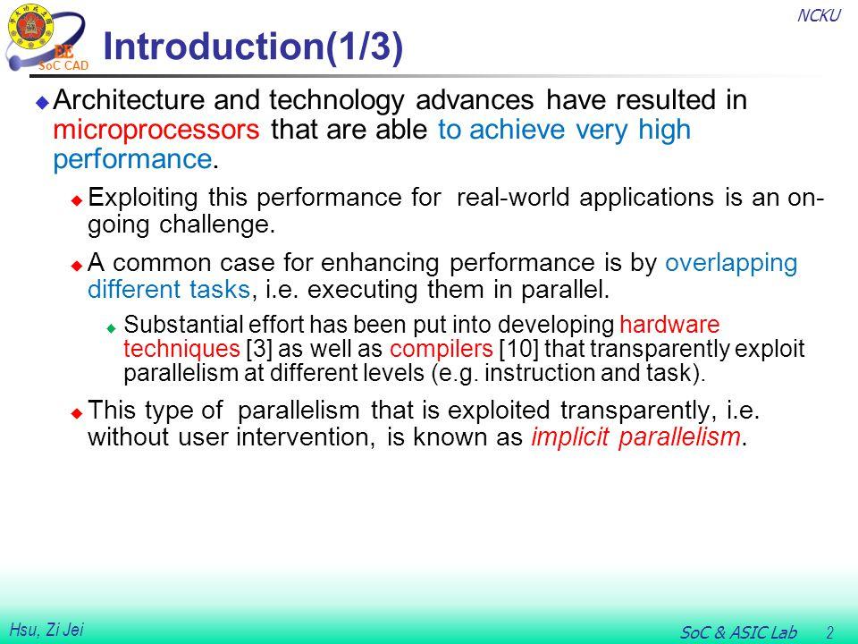 NCKU SoC & ASIC Lab 23 Hsu, Zi Jei SoC CAD Example of Code Transformation(4/7) Figure 6.