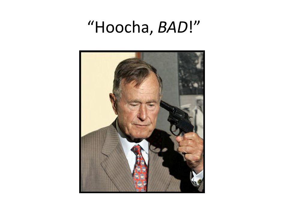 Hoocha, BAD!