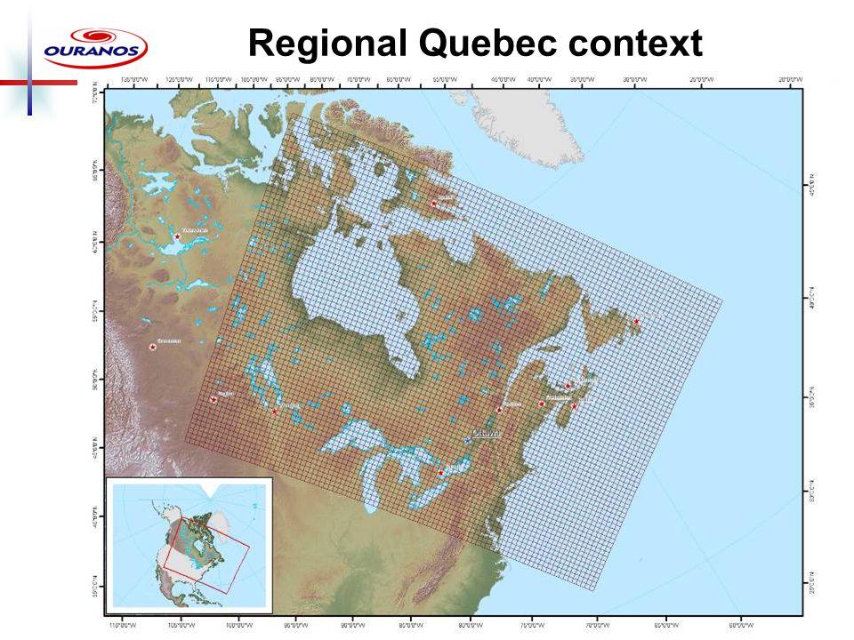 Regional Quebec context