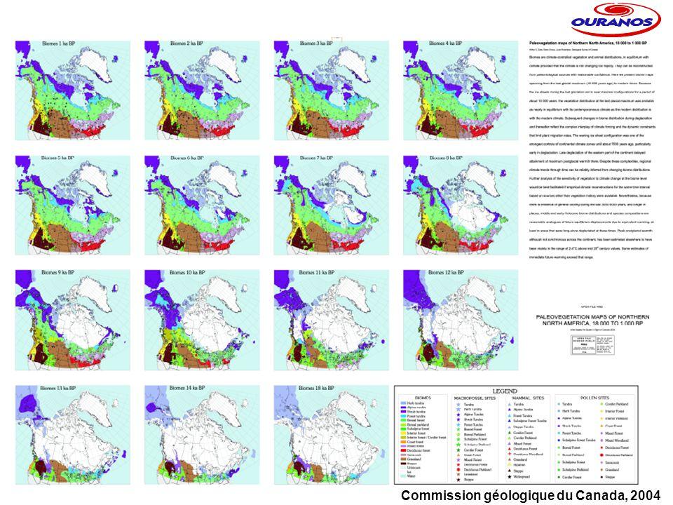 Commission géologique du Canada, 2004