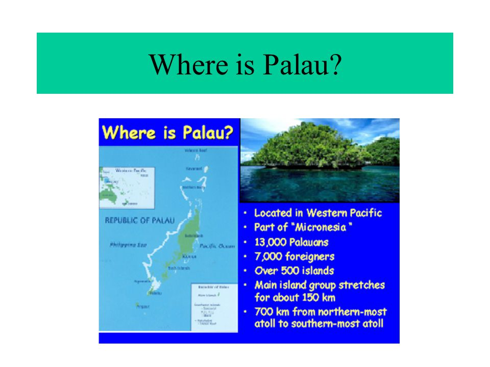 Where is Palau