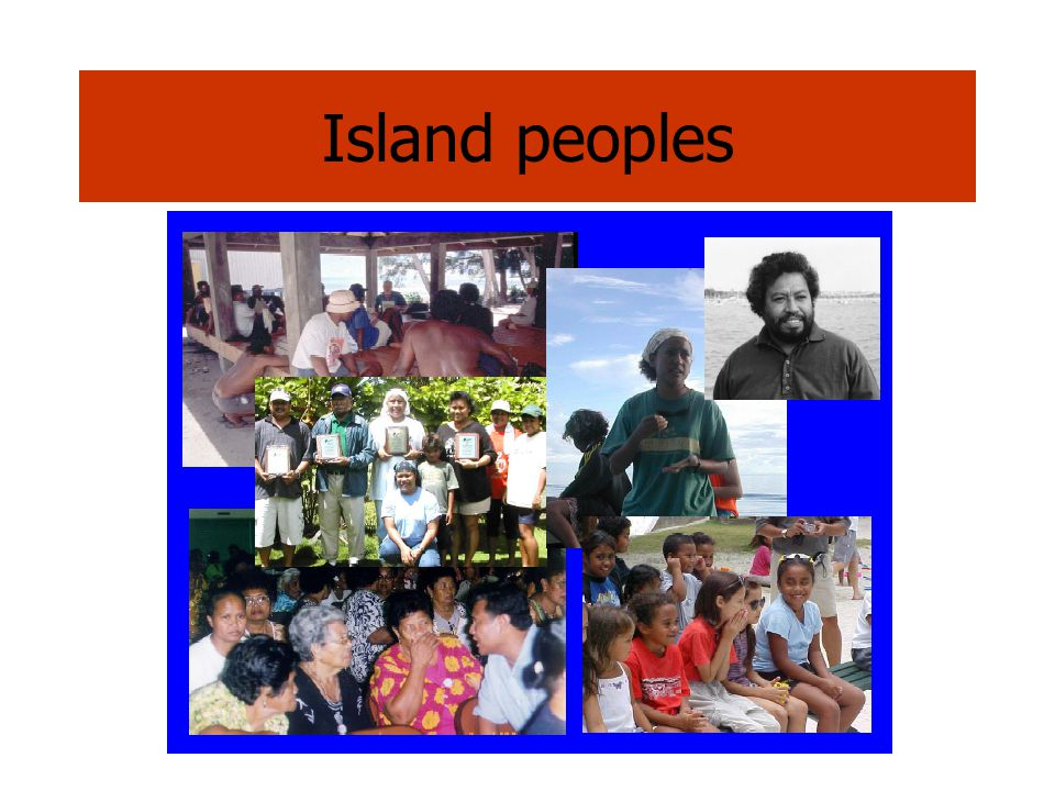 Island peoples