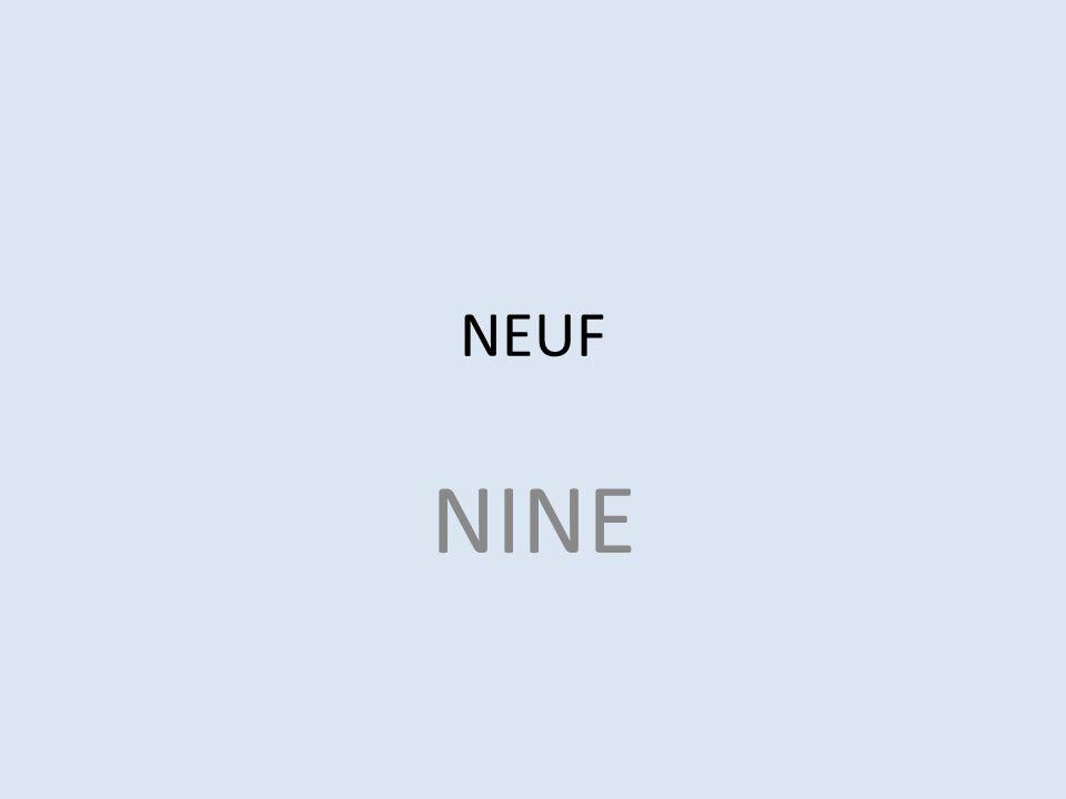 NEUF NINE