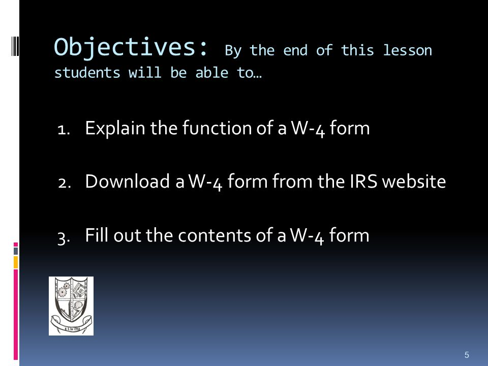 Objectives: By the end of this lesson students will be able to… 1.