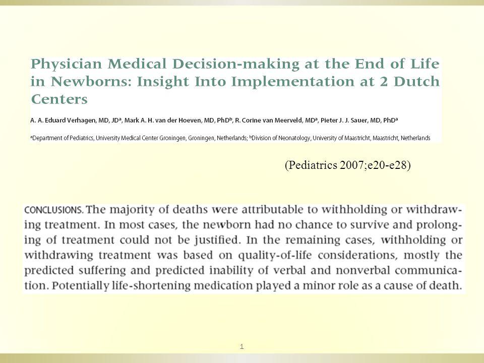 (Pediatrics 2007;e20-e28) 1