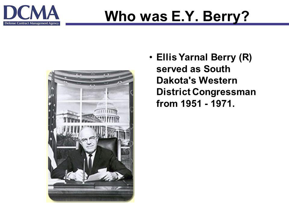 Who was E.Y.Berry.