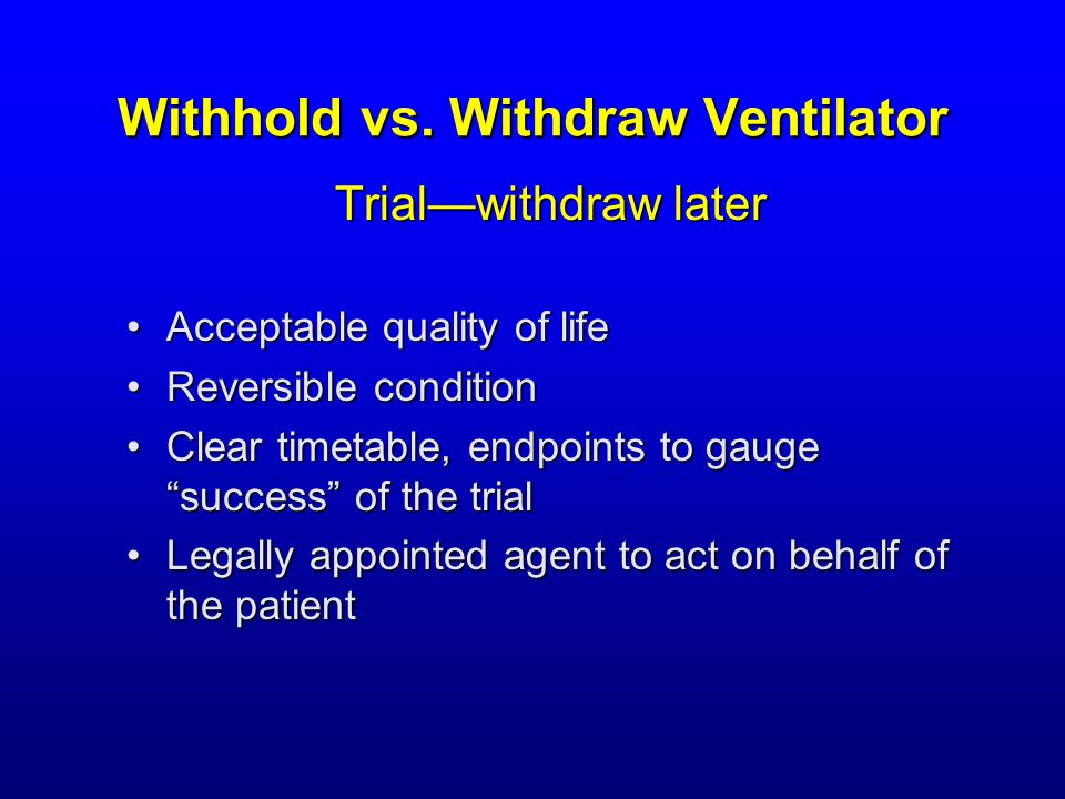 Withhold vs.