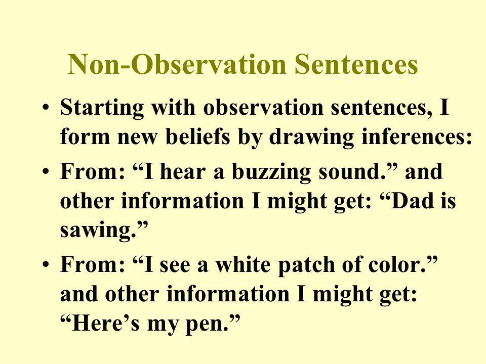 Inferred Beliefs Observations Deep- seated Beliefs