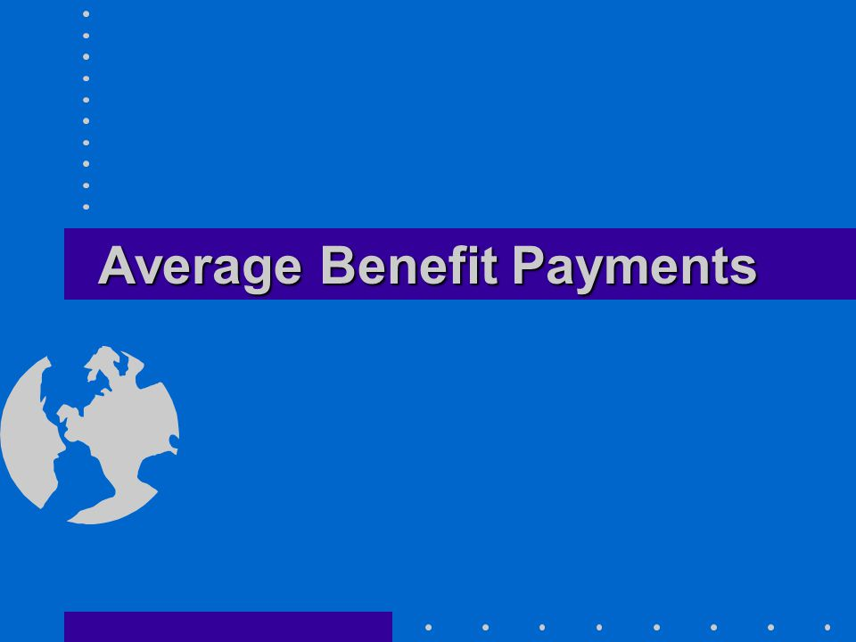Average Benefit Payments
