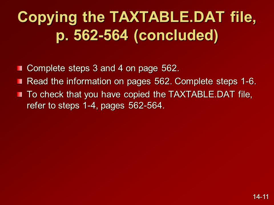 Establishing the payroll account, p.
