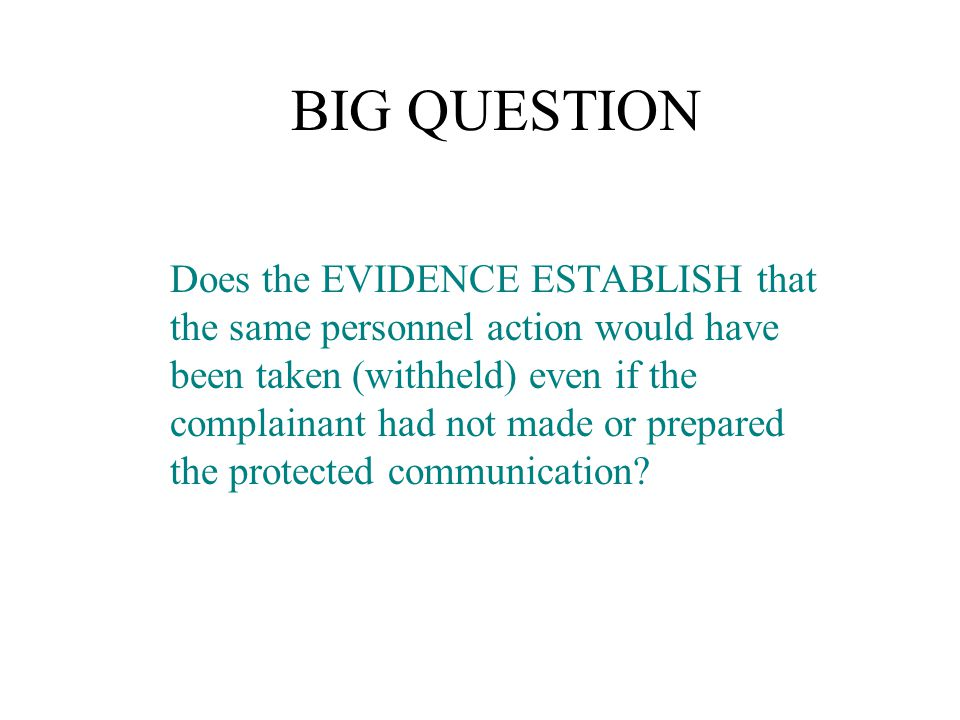 WHAT IS A PROTECTED COMMUNICATION.