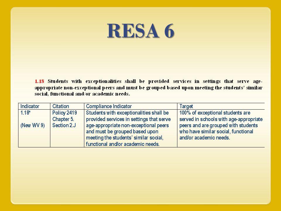 RESA 6