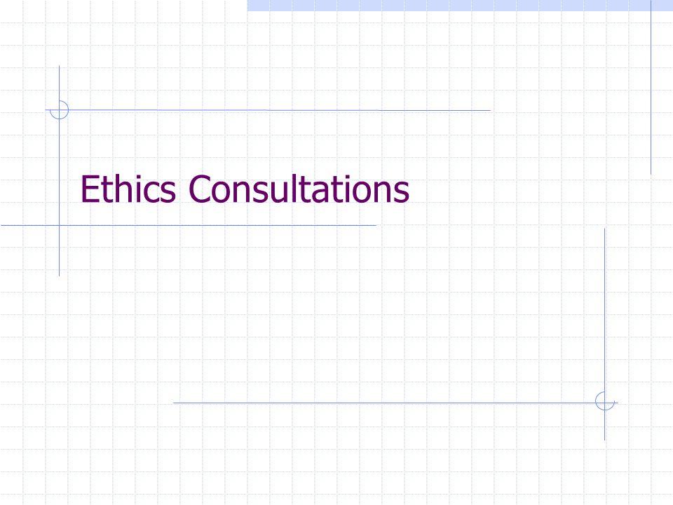 Ethics Consultations