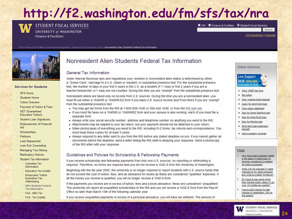24 http://f2.washington.edu/fm/sfs/tax/nra