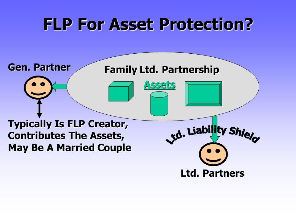 FLP For Asset Protection.