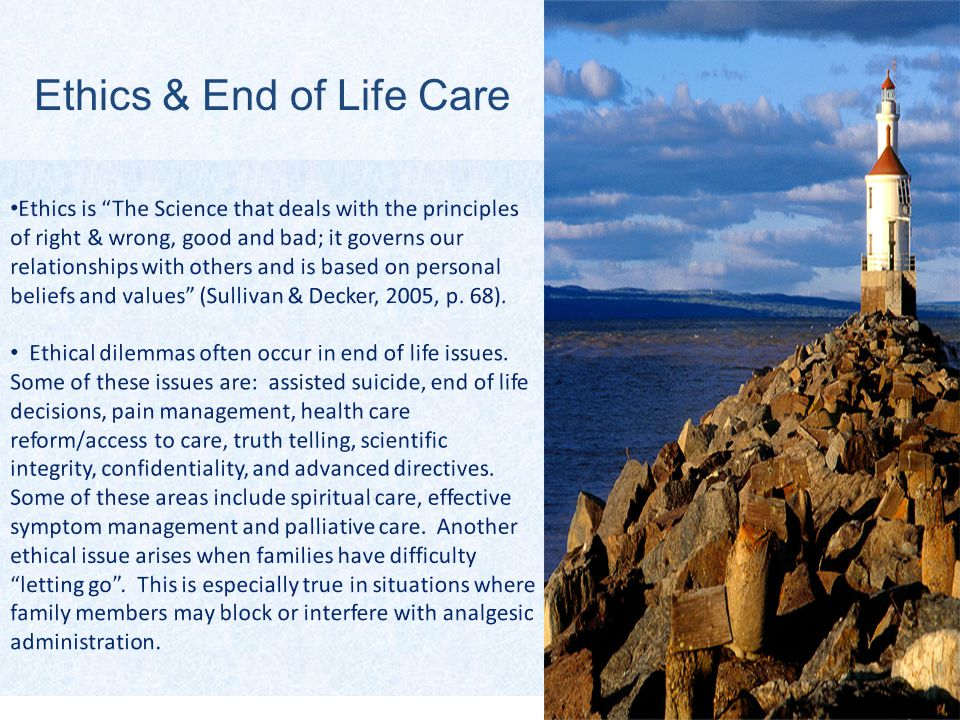 3 Ethics & End of Life Care