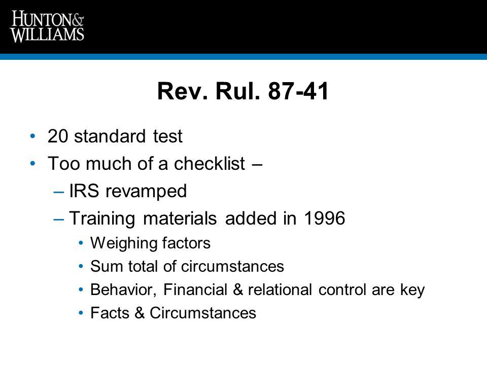 Rev. Rul.