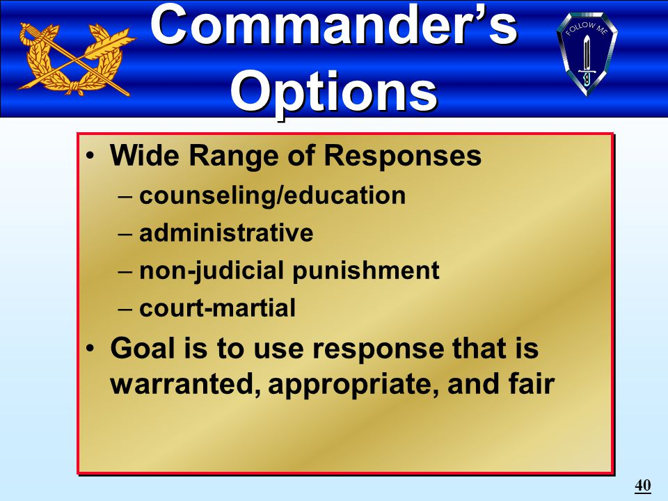 39 Gambling Gambling between officers and enlisted personnel is prohibited.