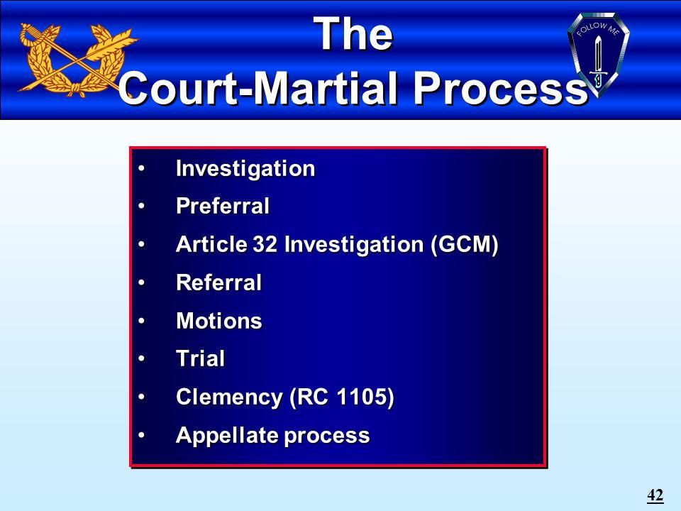 41 COURT-MARTIAL