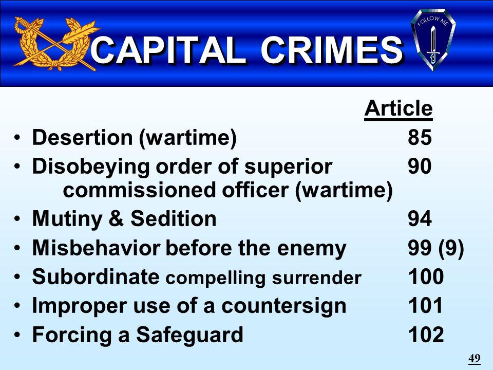 48 Crimes