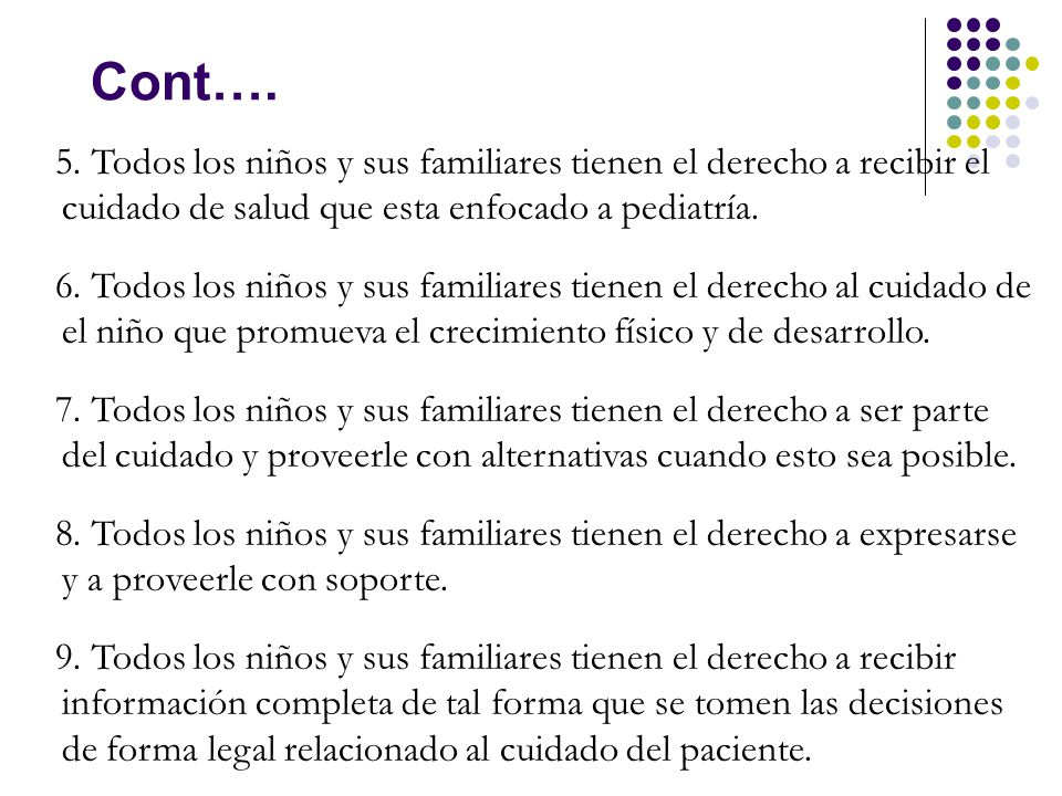 v Cont…. 5.