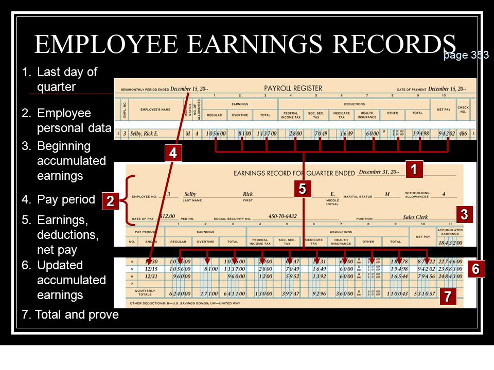 12-115 PAYROLL REGISTER78910 11 12 page 351 12 3 456 13