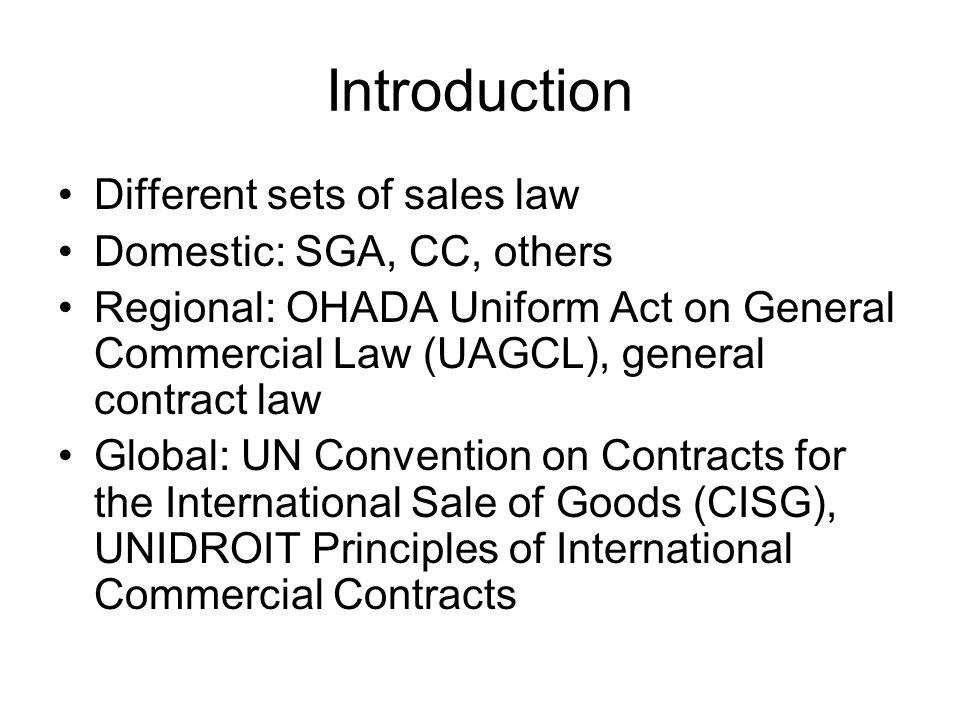 Part III/1: Substantive Rules - General Art.