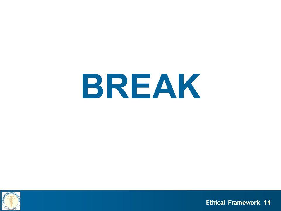 14Ethical Framework BREAK