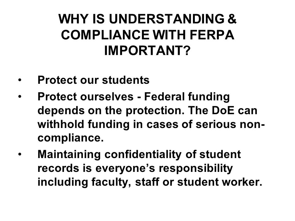 WHAT IS A STUDENT EDUCATIONAL RECORD.