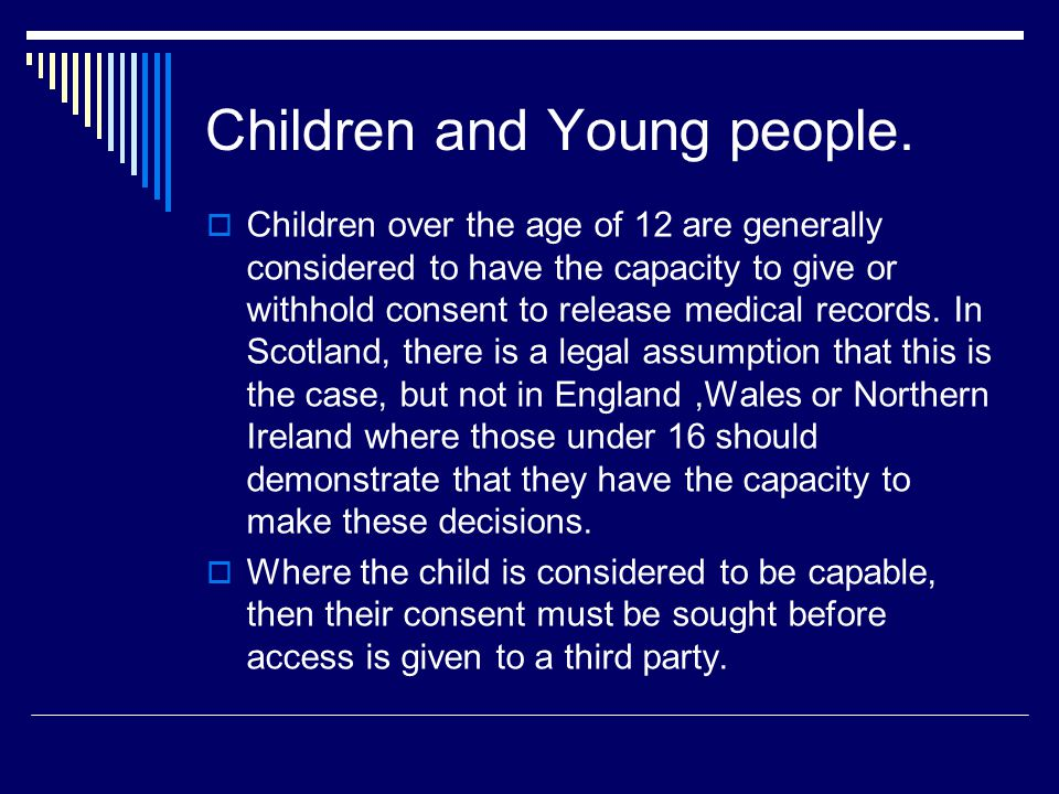 Children and Young people.