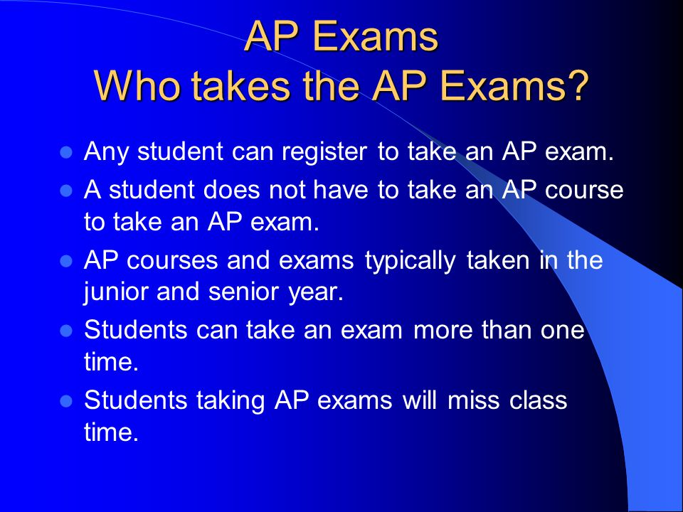AP Exams Except where designated, PHS offers courses designed to prepare the student for the AP Exam Art History (PHS: Humanities) Biology Calculus AB